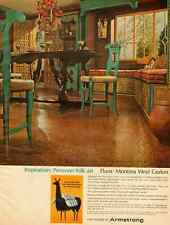 1965 vintage ad for Armstrong Montina Vinyl Floor Covering  -010512