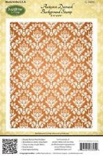 JUSTRITE - Autumn Damask  Background  Stamp