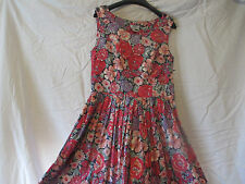 Laura Ashley Sweet Tea Time Floral Excellent Vinage Condition Size 6 Usa Fits 2