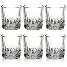 6 PCS Whiskey Tumblers Drinking Glasses Gift Boxed Set Wedding Present Xmas NEW