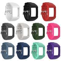 Soft Silicone Bracelet Wrist Band Watch Strap w/Buckle for Polar M600 GPS Watch