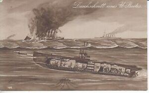 Average of A U - Boat 1916