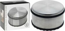 Heavy Duty Door Stopper Stainless Steel Doorstop Portable Round with Rubber Base
