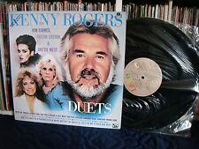 KENNY ROGERS | Duets with KIM CARNES, SHEENA EASTON, DOTTIE WEST | LP EX
