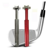 Golf Club Wedge & Iron Groove- Sharpener & Regrooving Cleaner Cleaning Tool US.