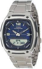 Casio AW-81D-2A Original New Date Bank Chronograph Mens Watch AW-81D Blue