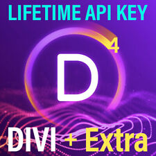 Divi 2021 Theme + Extra, Bloom, Monarch (with API Key Lifetime Update)