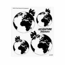 Kit Adventure Stickers Adesivi per Bauletti Moto Mondo