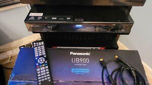 Panasonic DMP-UB900EBK Ultra HD 4K Player - Boxed & Complete - Fully Working
