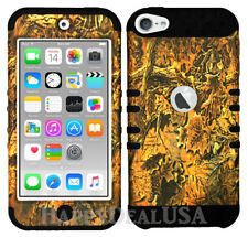 For Apple iPod Touch iTouch 5 | 6 - KoolKase Hybrid Cover Case - Camo Mossy 03