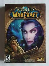 CIB COMPLETE IN BOX WORLD OF WARCRAFT PC COMPUTER GAME WINDOWS / MAC BLIZZARD