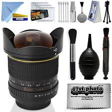 Super Ultra 8MM  Wide Angle 180° Fisheye Lens for Nikon F Mount Camera