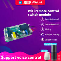 EWelink 180-240V Smart Home WiFi Light Switch Module for Alexa Google Home HOT
