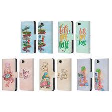 Fundas y carcasas Para Sony Xperia Z1 de piel para teléfonos móviles y PDAs Head Case Designs