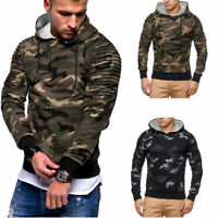 Men's Hooded Hoodie Hoody Winter Warm Sweater Jacket Coat Sweatshirt Outwear