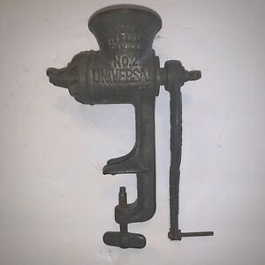 Antique Meat Grinder Good Used Condition See Pics E30