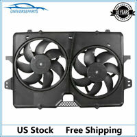 1x Dual Radiator Cooling Fan for 08-12 Ford Escape 08-11 Tribute Mariner 3.0L