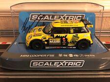 Scalextric Mini Cooper F56 Mini Challenge 2015 Silverstone No16 C3742AE BNIB