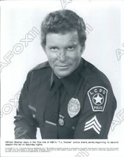 1983 Actor William Shatner as TJ Hooker  Press Photo