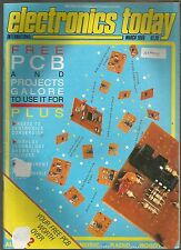 ELECTRONICS TODAY International - MAGAZINE - MARCH 1986 - complete