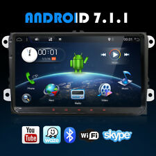 "9"" Android 7.1.1 Car Stereo HD GPS Navi 4G Wifi Fits VW Golf Touran Passat 2 DIN"