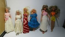 6 fashion dolls Farrah Fawcett , Maxie and unknowns in knit clothing Tlc