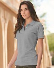 JERZEES Women's 100% Ringspun Cotton Piqué Polo Sport Shirt 443W