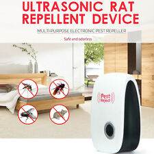 Electronic Ultrasonic Control Pest Rat Mosquito Snake Spider Repeller AU Plug