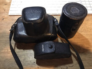 Vintage Pentax Spotmatic Asahi With extra lens and view finder