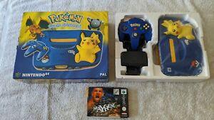 Nintendo 64 Pikachu Consola Edición Especial