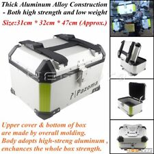Motorcycle Luggage Trunk Top Lock Case Aluminum Scooter Storage Tail Box For BMW