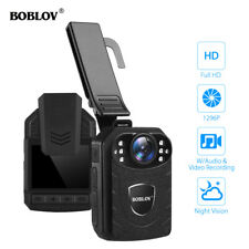 1296P Body Wearable Camera External Storage With Audio For Police Security Guard