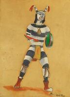 B.W. Quintana : Hano Clown : Archival Quality Art Print