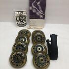 Vintage KR Skates Wheels Lot with bearings used