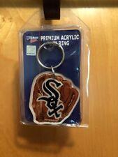 NIP Wincraft Acrylic Sport Key Ring Chicago White Sox Major League Baseball Nice