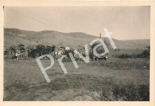 Foto WK II Wehrmacht Soldaten Kompanie Gefechtsstand Tarn Ostfront H1.28