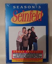 Seinfeld - Season 3 (DVD, 2004, 4-Disc Set), Brand New