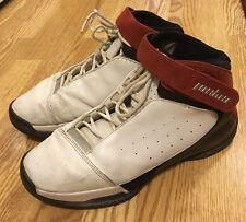 Nike Jordan Team Strong Premier White Black Red 311868 101 00 Sneakers Shoes 10