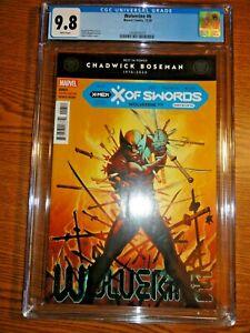 Wolverine #6 Kubert A Cover Key CGC 9.8 NM/M 1st Solem & Swordbearers X Marvel