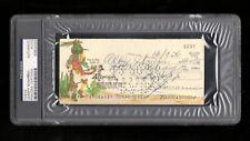 >orig. 1976 JOSEPH BONANNO *Signed Check* PSA/DNA Authentic MAFIA CRIME BOSS
