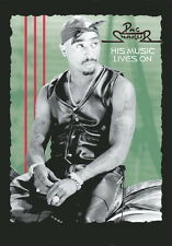 "2 PAC / TUPAC FLAGGE ""HIS MUSIC LIVES ON"" POSTERFLAG POSTER FLAG"