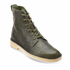 Clarks Desert Mali Men's Boots Leaf Original Crepe Outsole 26115385
