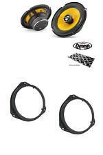 "Vauxhall Corsa D VXR 6.5"" Front door speaker upgrade kit from JL Audio Dynamat"