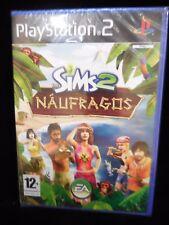 Los Sims 2 Naufragos para playstation 2 Nuevo y precintado