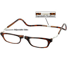 Magnetic CliC Xxl Snap-closed Hang-from-neck Readers | Tortoise Brown | 3.50