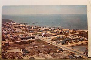 Delaware DE Dewey Beach Redwood Lodge Southwinds Motel Bay Postcard Old Vintage