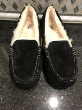 Women's UGG Black Ansley Slippers- size 11-#3312