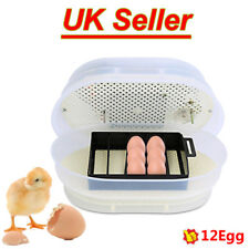 Digital Chicken Duck 12 Egg Incubator Fully Automatic Poultry Hatcher Supply 60W