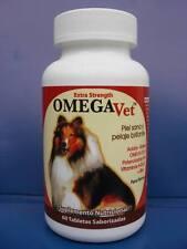 Omega-vet complex (2 frascos de 60 tabletas por paquete)