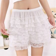Women Sexy Frilly Lace Ruffle Shorts Knickers Panties Underpants Plus Size New